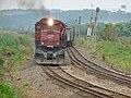 Comboio que entrava sentido Boa Vista no pátio da Estação Pimenta em Indaiatuba - Variante Boa Vista-Guaianã km 216 - panoramio (2).jpg