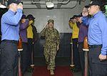Commander, 3rd Fleet speaks with USS Nimitz (CVN 68) commanding officer 161122-N-MH057-007.jpg