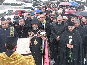English: Commemoration of Hrant Dink in Vanadz...