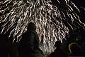 Community residents watch the grand finale of a fireworks display during a bonfire night celebration Nov. 2, 2013, over Abbey Gardens in Bury St. Edmunds, England 131102-F-HA826-936.jpg