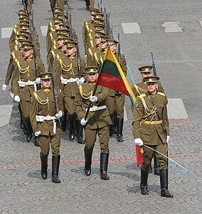 Compagnie de la garde d%27honneur lituanienne