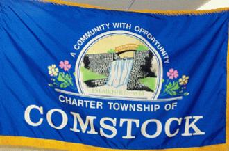 Comstock Township, Michigan - Image: Comstock flag