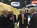 Congressman Brooks visits Northrop Grumman booth at 2016 SMD Symposium (28954082921).jpg