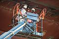 Construction of the HMS Queen Elizabeth. MOD 45157309.jpg