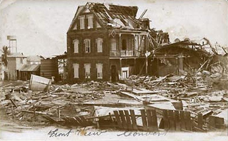 Convent Belize 1931 hurricane