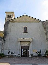 Convento di Santa Maria delle Grazie (Montechiarugolo) - facciata del santuario 2019-06-21.jpg