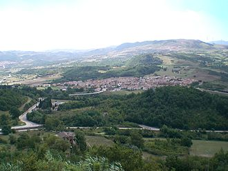 Conza della Campania - The new settlement, built after the 1980 earthquake.