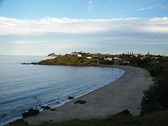 Cooee Bay - Beach at Cooee Bay, 2009