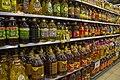 Cooking oils on a shelf 01.jpg