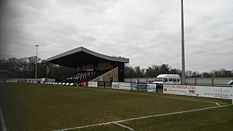 Corby Town F.C. - Main stand