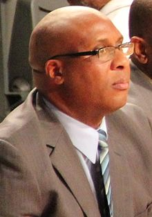 Corey Williams (basketball, born 1970) 2013.jpg