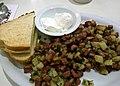 Corned beef hash at Lori's Diner (13859407895).jpg
