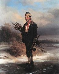 Self-portrait as a kindle-wood gatherer