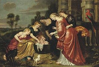 Finding of Moses - Cornelis de Vos, c. 1633