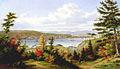 Cornelius Krieghoff - Québec vu de la Pointe De Lévy (1863).jpg