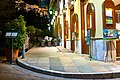 Corner of Dexippou and Panos Street in the neighborhood of Plaka. In the background the Acropolis.jpg