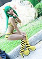 Cosplayer of Lum Invader from Urusei Yatsura 20090221 2.jpg