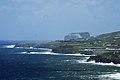 Costa da ilha do Faial com o Morro de Castelo Branco ao fundo vista do Monte da Guia, Concelho da Horta, ilha do Faial, Açores, Portugal.JPG