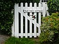 Cottage gate, Main Street, Cononley 08.jpg