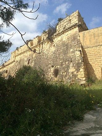Fort San Salvatore - Walls of Fort San Salvatore