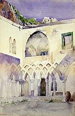 Courtyard, Capucine Monastery, Amalfi