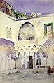 Courtyard, Capucine Monastery, Amalfi SAAM-1962.13.29 1.jpg