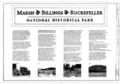 Cover Sheet - Marsh-Billings-Rockefeller National Historical Park, 54 Elm Street, Woodstock, Windsor County, VT HALS VT-1 (sheet 1 of 19).png