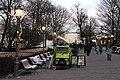 Crêpe cart at Esplanadi in Helsinki, Finland, 2019 December.jpg