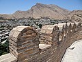 Crenellations atop Falak-ol-Aflak Castle - Khorramabad - Western Iran (7423636078).jpg