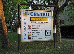 Créteil - Créteil twinnings