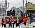 Crew attending to derailed Metro-North train, New Canaan, CT.jpg