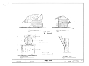 Crews Farm, Macclenny, Baker County, FL HABS FL-398 (sheet 24 of 24).png