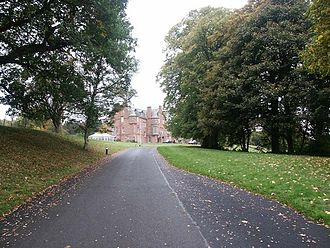James Wolfe Murray - Cringletie House, Murray's home in Peeblesshire