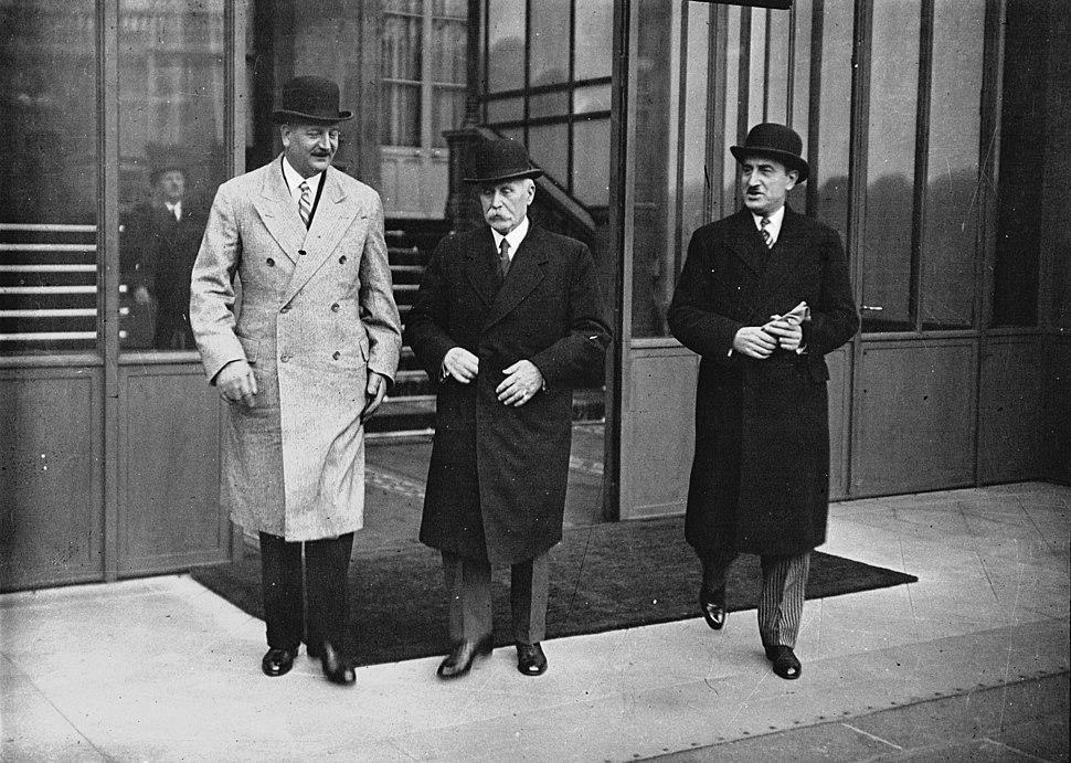 Crise ministérielle-1934