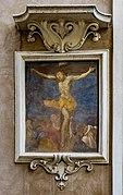 Crocifissione facciata Chiesa di Santa Maria della Carità Brescia.jpg