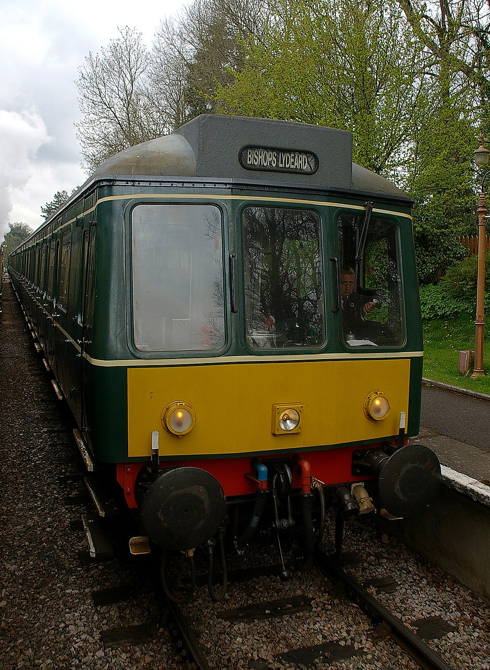 Crowcombe Heathfield railway station MMB 02