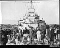 Crowds inspect HMAS AUSTRALIA II at Circular Quay, Sydney (8490349917).jpg