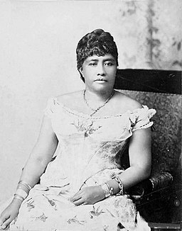Crown Princess Liliuokalani-b&w