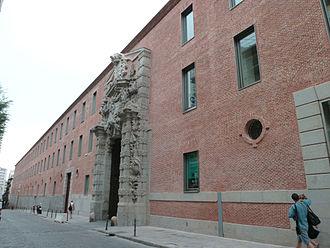 Cuartel del Conde-Duque - Image: Cuartel del Conde Duque (Madrid) 05