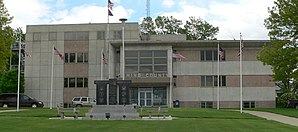 Das Cuming County Courthouse in West Point
