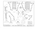 Cupola House, 408 South Broad Street, Edenton, Chowan County, NC HABS NC,21-EDET,3- (sheet 8 of 14).png