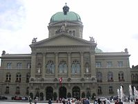 House of Parliament in Bern