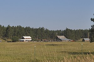 National Register of Historic Places listings in Custer County, South Dakota - Image: Custer County SD Maria Bauer Ranch