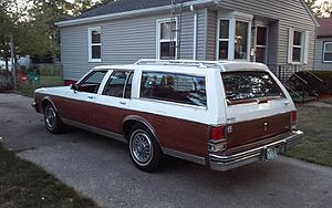 Oldsmobile Custom Cruiser - 1990 Oldsmobile Custom Cruiser