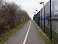 Cycle path-footpath leading to Filton Station - geograph.org.uk - 141515.jpg