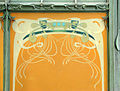 Décor de la station art nouveau de la porte Dauphine (Hector Guimard) (2590158847).jpg