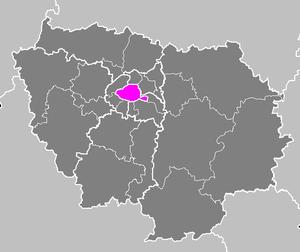 Arrondissement of Paris - Image: Département de Paris