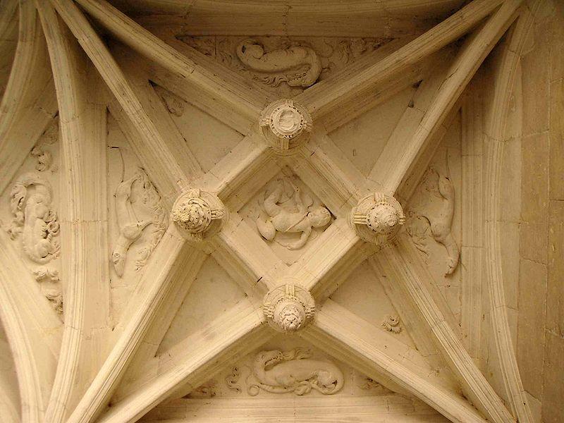 File d tails plafond de la loggia azay le rideau jpg for Plafond a la francaise