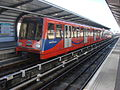 DLR train 95 at West Silvertown.jpg