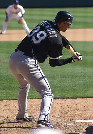 Chris Stewart (baseball) - Stewart as a non-roster invitee of the Chicago White Sox in 2009 spring training